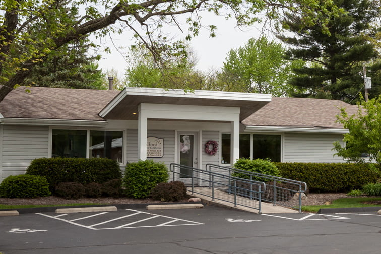 milford dental office exterior